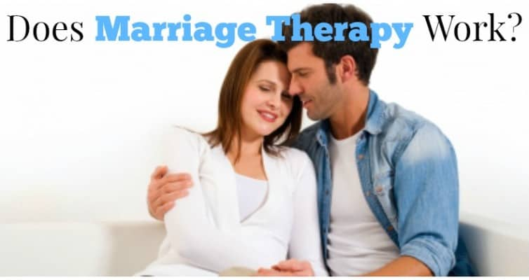 Does Marriage Therapy Work