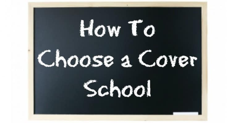 how to choose a cover school