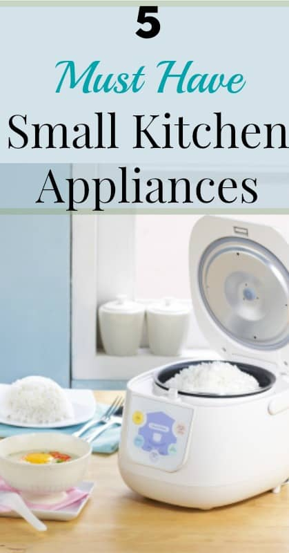 five must have small kitchen appliances our small hours