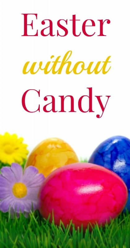 easter without candy pin