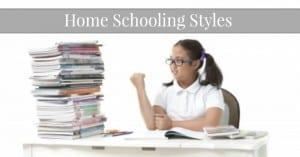 Homeschooling Styles