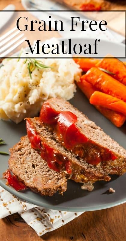 Grain Free Meatloaf Recipe