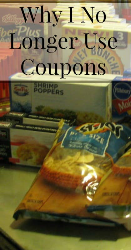 Why I No Longer Use Coupons