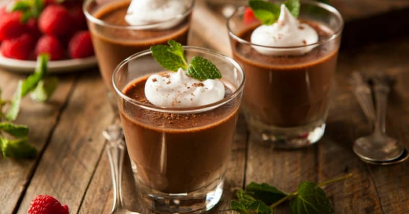 Real Food Chocolate Pudding Recipe