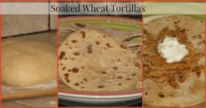 Soaked Tortillas