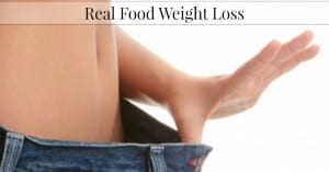 Real Food Weight Loss