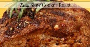 Tender Slow Cooker Roast