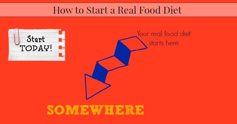 How to Start a Real Food Diet