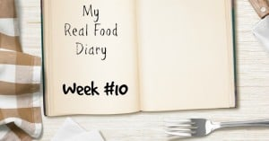 Real Food Diary Snapshot:  What I Ate Yesterday #10