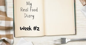 Real Food Diary Snapshot: What I Ate Yesterday #2