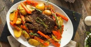 Easy Slow Cooker Roast Recipe