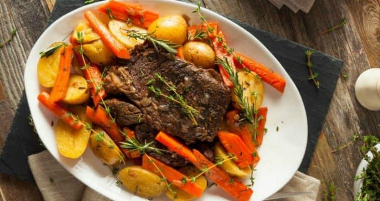 Easy Slow Cooker Roast Recipe