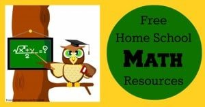 Free Home Schooling Resources:  Math