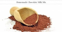 Homemade Chocolate Milk Mix