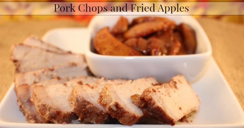 ork Chops and Fried Apples Recipe