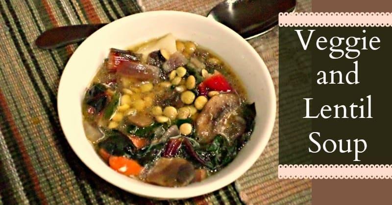 Veggie and Lentil Soup