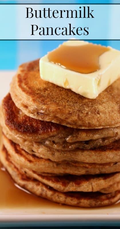 Sprouted Flour Buttermilk Pancakes