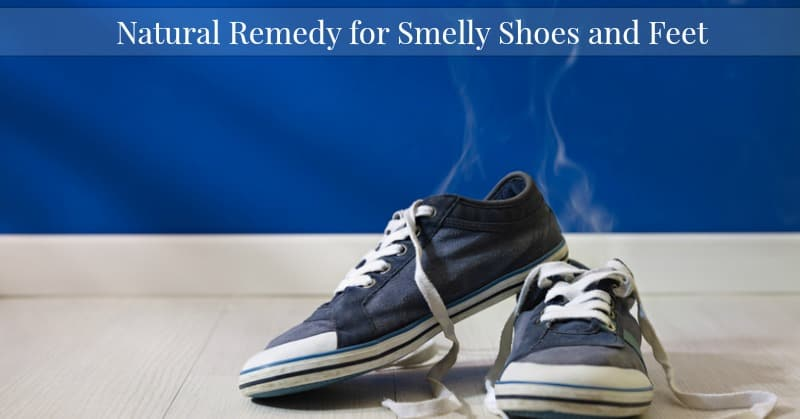 Natural Remedy for Smelly Shoes and Feet