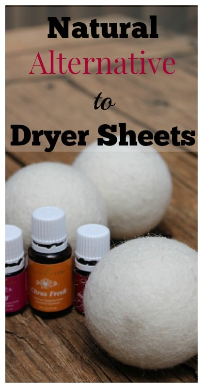 Dryer Balls Natural Alternative to Dryer Sheets pin