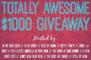 $1000 Cash Giveaway