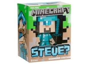 "Minecraft Diamond Steve Vinyl 6"" Diamond Edition Figure"