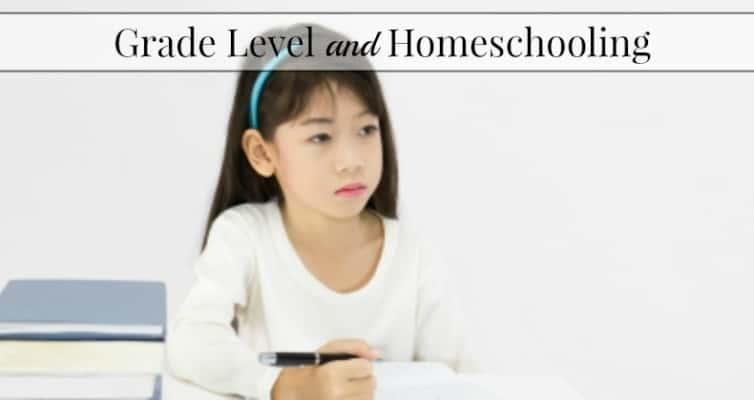 Grade Level and Homeschool
