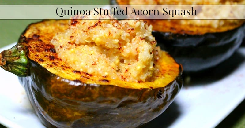 stuffed acorn squash venison and wild rice stuffed acorn squash quinoa ...