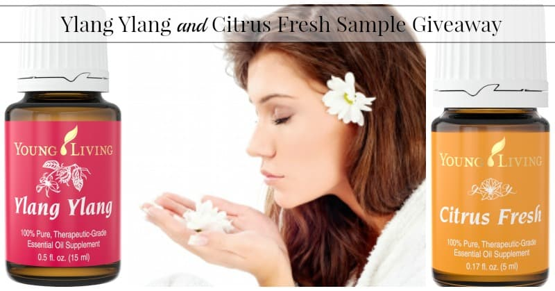 Ylang Ylang and Citrus Fresh Sample Giveaway!