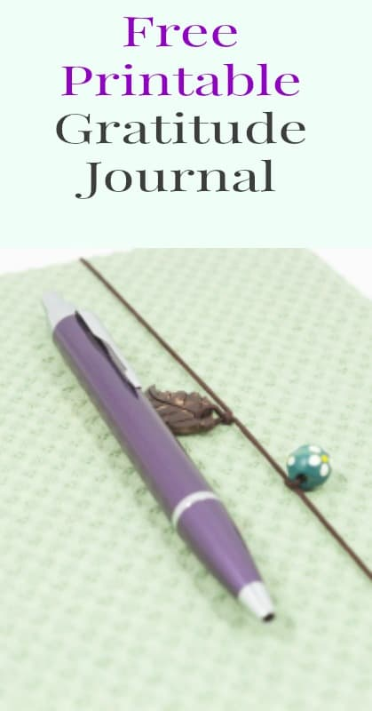 Unusual image for printable gratitude journal