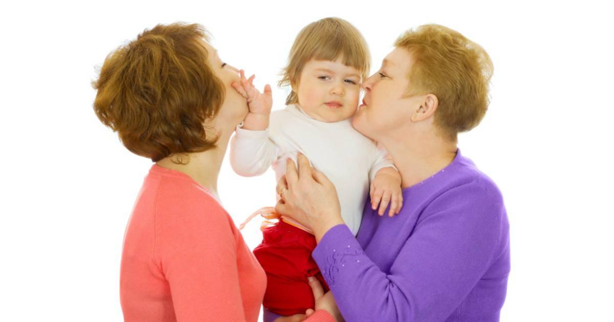 Child Won't Hug Grandma