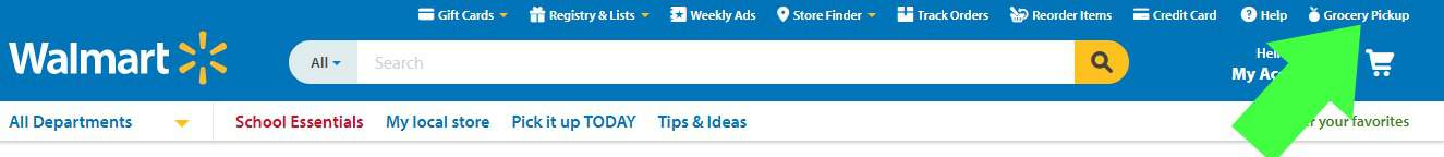 How to order groceries online from Walmart