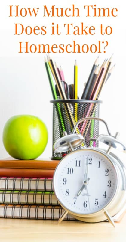 How Much Time Does Homeschooling Take?