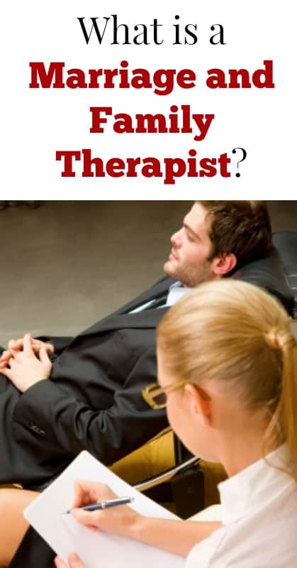 What is a marriage and family therapist pin