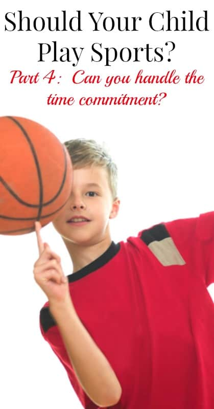 What's the Time Commitment for Youth Sports Like