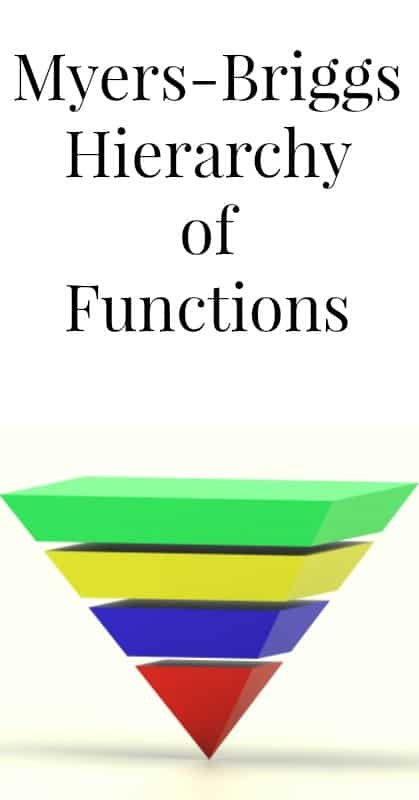 myers briggs hierarchy of functions pin