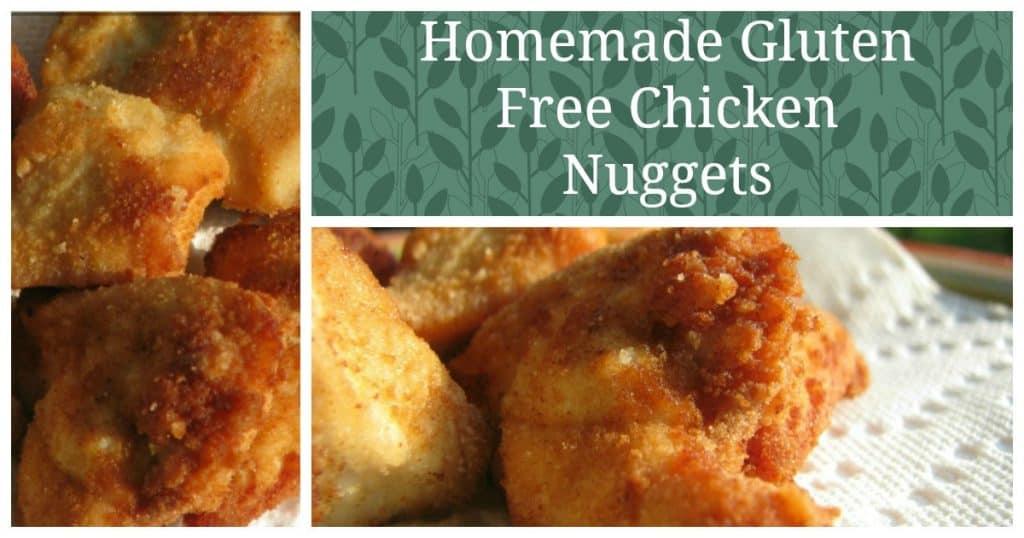 Gluten Free Chicken Nuggets Recipe