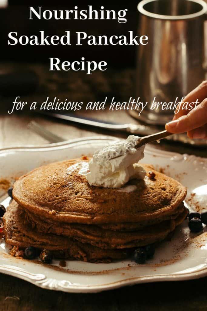 Soaked Flour Pancakes
