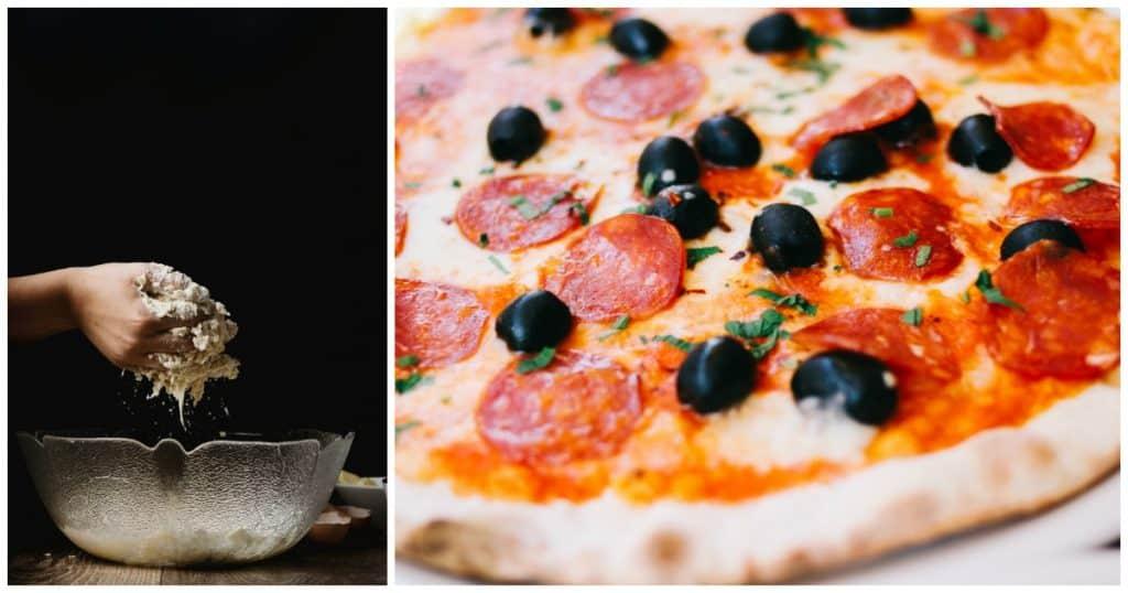 Homemade Sourdough Pizza Crust Recipe