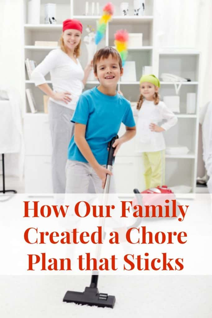 Chore Plan for Kids