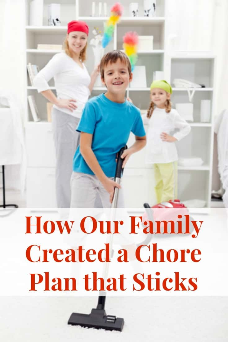 Chore Plan for Kids