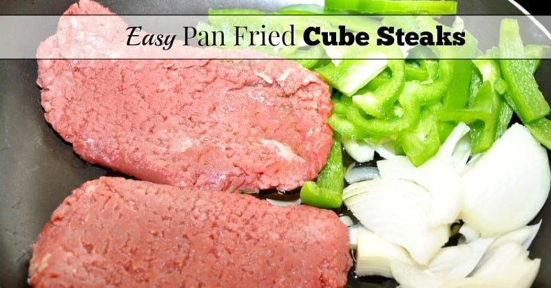 Pan Fried Cube Steaks