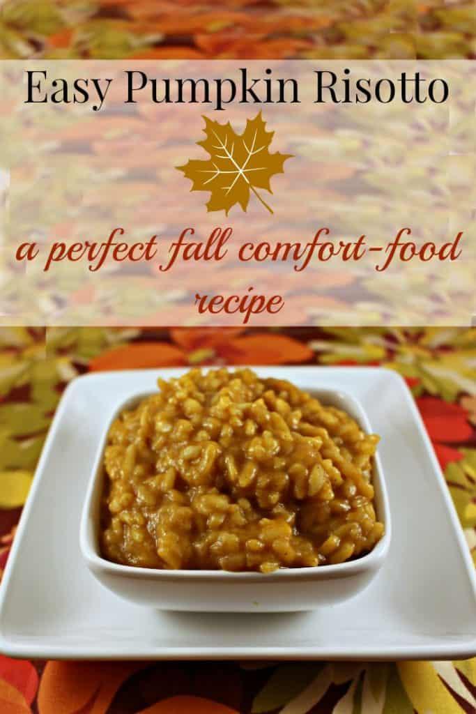 Easy Pumpkin Risotto Recipe