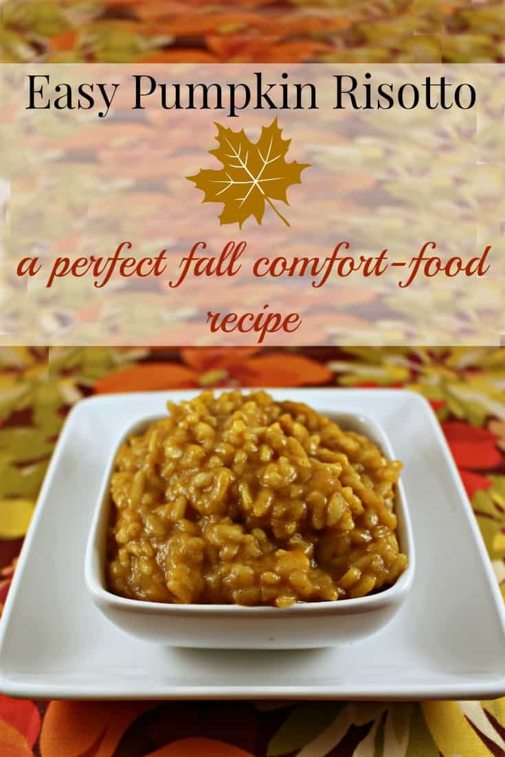 Easy Pumpkin Risotto Recipe