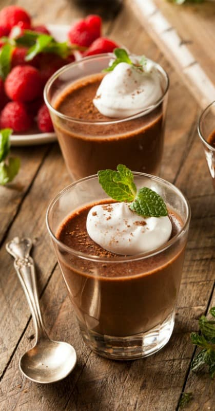 Healthy Homemade Chocolate Pudding Recipe