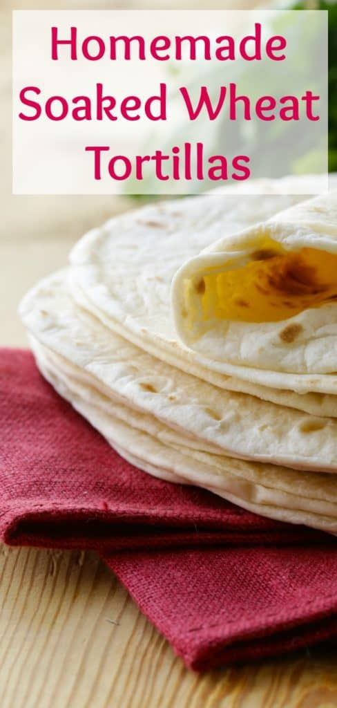 How to Make Soaked Wheat Tortillas at Home