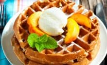 Nourishing Traditions Soaked Waffle Recipe