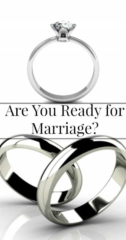 Am I Ready for Marriage