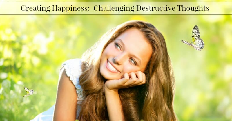 Challenging Destructive Thoughts