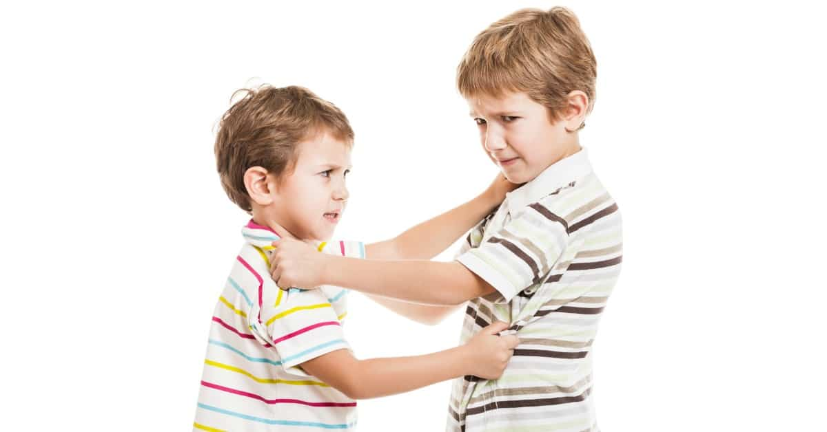 How to Stop Sibling Rivalry