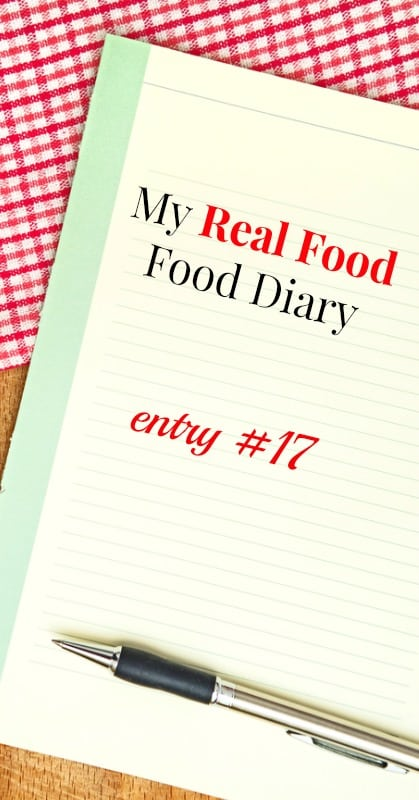 My Real Food Diary What I Eat in a Day on a Healthy Diet
